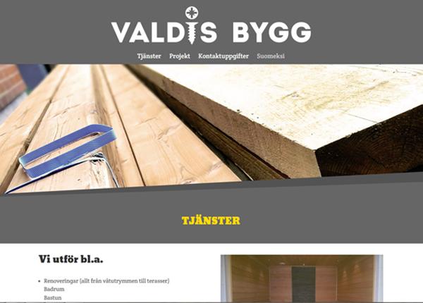 webdesign valdis
